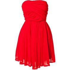 Jeane Blush Mimosa Lace Dress ($66) ❤ liked on Polyvore