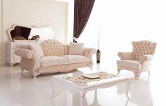 Gut Barock Sofa, Italienische Möbel, Exklusive Möbel, Barock Möbel,  Chesterfield Wohnzimmer, Wohnen