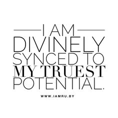 Yes I am. #affirmation