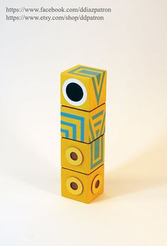 Baby Totem. Monument Valley Game Figure.