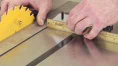 Learn how to check parallelism of a table to avoid binding issues that cause kickback on your woodworking projects down the road.