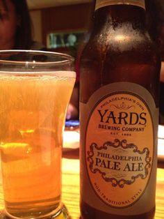 Philadelphia Pale Ale, Yards Brewing Company, Philadelphia PA,