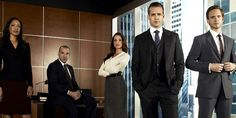 SUITS - On the run from a drug deal gone bad, Mike Ross, a brilliant college-dropout, finds himself a job working with Harvey Specter, one of New York City's best lawyers.