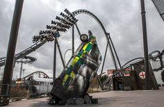 The Swarm ride at Thorpe Park