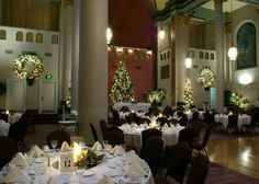 Pittsburgh's Grand Hall at The Priory Hotel interior