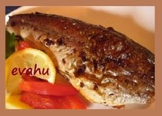 Pstruh na másle / Trout with Butter Fish And Seafood, Cheesesteak, Trout, Ethnic Recipes, Butter, Brown Trout, Butter Cheese