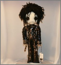 Edward Scissorhands inspired doll... - zosomoto