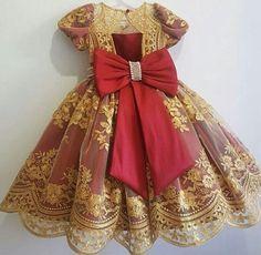 Little Dresses, Flower Girl Dresses, Girls Dresses, Dress Anak, Future Daughter, Doll Costume, African Dress, Holidays And Events, Kids Wear