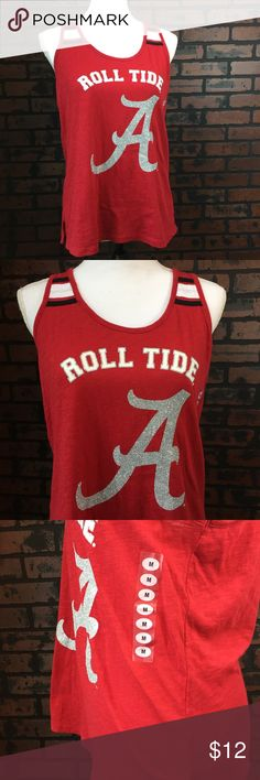 New Alabama Roll Tide Racerback Tank Great condition. New. Size medium. Tops Tank Tops