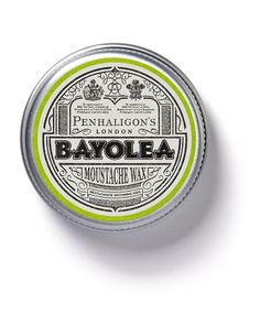 The must-have accessory for men with facial hair to keep their moustache neat, tidy, and with perfectly twizzled ends. Lightly scented with Penhaligon's Bayolea. Warm a small amount of wax between the forefinger and thumb, and twizzle ends of moustache to style into place.