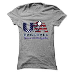 USA base ball, T-shirt best sell