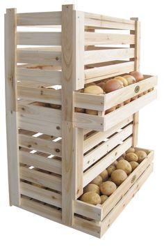 Stapelkiste für Kartoffeln und Obst