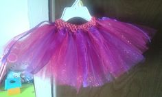 Little pink and purple tutu..