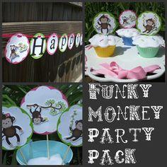 Funky Monkey Party Pack @Brecken Iupeli