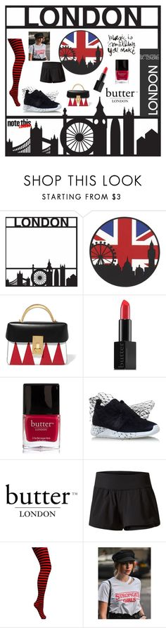 """London Times"" by airsunshine on Polyvore featuring Butter London, The Volon and Kurt Geiger"
