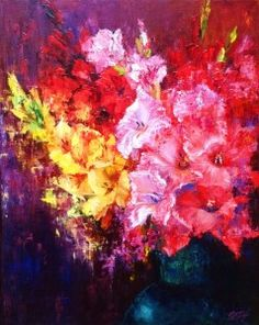 Buy original art via our online art gallery by UK/British Artists. A huge selection of modern art paintings for sale, as well as traditional artwork for sale through Art Discovered Online. All paintings comes with FREE UK delivery. Art Paintings For Sale, Modern Art Paintings, Colorful Paintings, Artwork Online, Buy Art Online, Online Art Gallery, Traditional Artwork, Floral Artwork, Painting Gallery