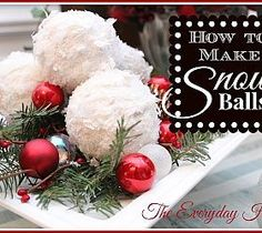 How to Make Snowball Christmas Ornaments using ball ornaments, toilet paper and Mod Podge