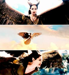 Maleficent: I had wings once. They were strong.