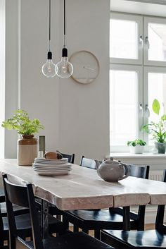 Black&white dining room 1)