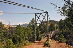 Hellroaring Creek Trail in Yellowstone