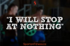 Will you stop before reaching your goal? #Motivation #Fitness #Health #Diet #SpartanFitness