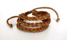 Moa Weave Bracelet from www.kurakura.co.za Woven Bracelets, Bangles, Leather Weaving, Weave, Jewelry, Fabric Cuff Bracelets, Bangle Bracelets, Jewellery Making, Bracelets