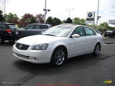 awesome nissan altima 2005 white car images hd 2005 Satin White Pearl Nissan Altima 35 SE  29831718 GTCarLot