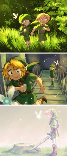 Ocarina of Time The Legend Of Zelda, Legend Of Zelda Memes, Legend Of Zelda Breath, Twilight Princess, Video Game Art, Video Games, Link Zelda, Saria Zelda, Zelda Anime