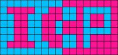 ICP Perler Perler Bead Pattern / Bead Sprite