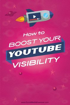 After you upload a great video to your YouTube channel, there are a few steps you can take to make it easier for viewers to find your content.   Social Media Exmainer