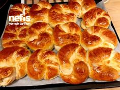 Kabardıkça Kabaran Sodalı Poğaça Sweet Potato, Cookie Recipes, Sausage, Bakery, Recipies, Deserts, Food And Drink, Favorite Recipes, Breakfast