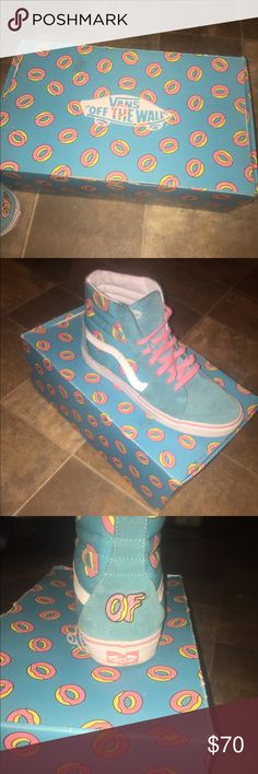 Odd Future x Vans collab OFWGKTA!! Great condo. Limited Release. Vans Shoes Sneakers