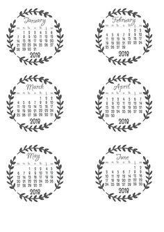 New printable 2017 Calendar PDF from Vertex42.com