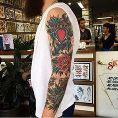 "⠀⠀⠀⠀⠀⠀⠀⠀Tattooist Art Magazine på Instagram: "" #Tattoo of the day #Artist: Kik Jones Location: #Australia Artist's IG: @kirk_jones : #tattoo #tattoos #art #artist #tatuaje #tatouage #tatuaggio #tatuagem #tatuagens #inspiration #drawing #love #ig #paintingr #modernart #graffiti #photography #streetart #urban #fineart #instart #artgallery #gallery #fashion #gallery"""