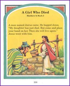 A Girl Who Died (Story) - Kids Korner - BibleWise