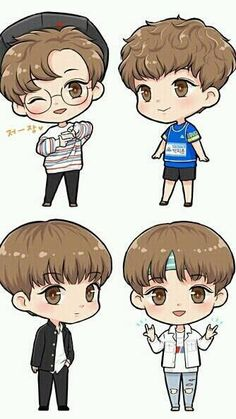 Chibi, Cartoon Drawings, Cute Anime Boy, Cute Stickers, Kawaii, Fan Art Drawing, Kpop Drawings, Art, Fan Art