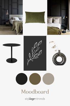 lees in de blog hoe je materialen kan combineren en op pad kan gaan met je eigen moodboard om gericht te winkelen Pad, Table, Blog, Furniture, Home Decor, Easy Meals, Decoration Home, Room Decor, Tables