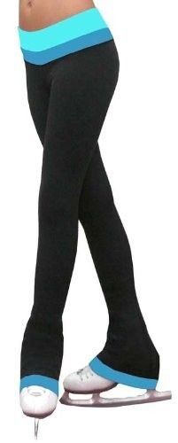 #sk8dream  Chloe Noel Girls Reversible 2tone Pants with Colored Cuff by at Rainbo Sports.