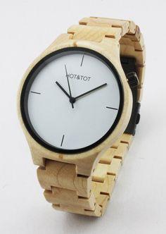 Yale wooden watch