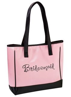 Bridesmaid gift ideas based on the bridesmaid's personality - great suggestions!