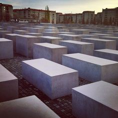 Berlin's Holocaust Memorial #berlin #hwberlin #germany