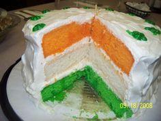 Luck O' The Irish cake