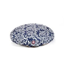 Navy Blue French Quarter Small Round Indoor Outdoor Pet Dog Bed With Removable Washable Cover By Majestic Pet Products >>> Want additional info? Click on the image. (This is an affiliate link and I receive a commission for the sales)