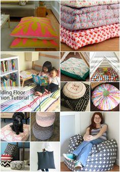 22 Easy DIY Giant Floor Pillows That Are Fun And Relaxing