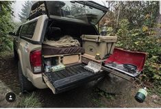 Ideas For Car Camping Truck Campers Pickup Camping, Truck Bed Camping, Truck Tent, Van Camping, Camping Life, Truck Topper Camping, Truck Canopy, Camping Hammock, Kayak Camping