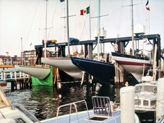 Four 12-meter America's Cup Yachts at Newport RI, 1983 | Flickr - Photo Sharing!