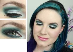 Dramatic Teal Cut Crease Tutorial