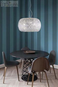 Marchetti Pulsar S65 Lampe Pendelleuchte Nickel poliert glänzend erhältlich bei Ihrem DGLights Designer Lampen Versand und Internet Einzelhandel