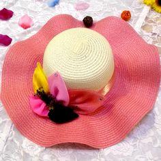 Ms fashion summer beach sun straw hat