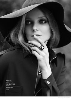 Eniko Mihalik by Krisztian Eder for InStyle Hungary July/August 2014